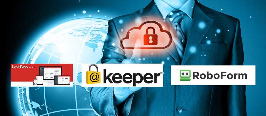 veilig beheer van wachtwoorden met LastPass, Keeper en RoboForm